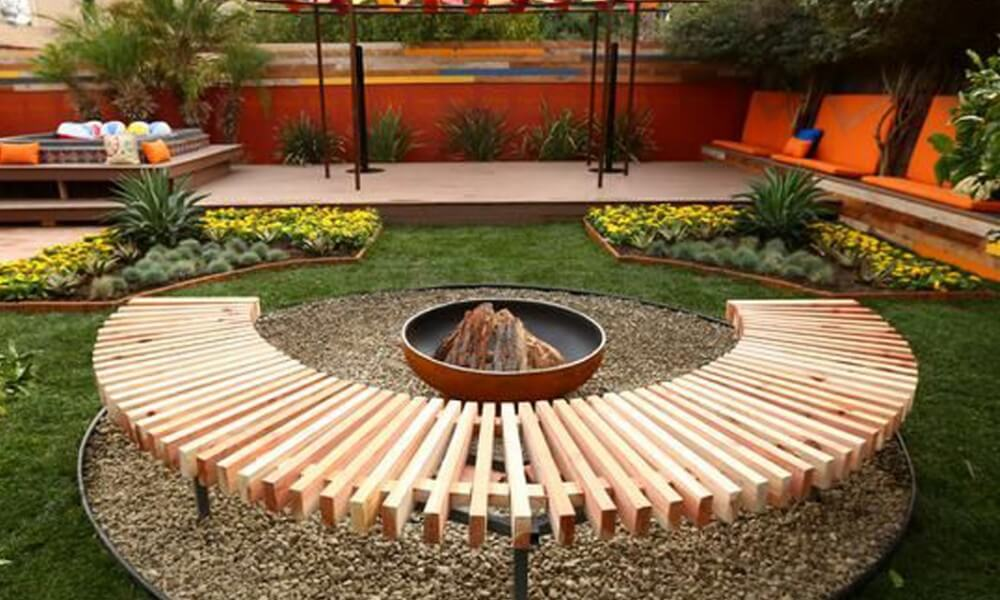 28 backyard seating ideas worthminer - Small Garden Ideas On A Budget