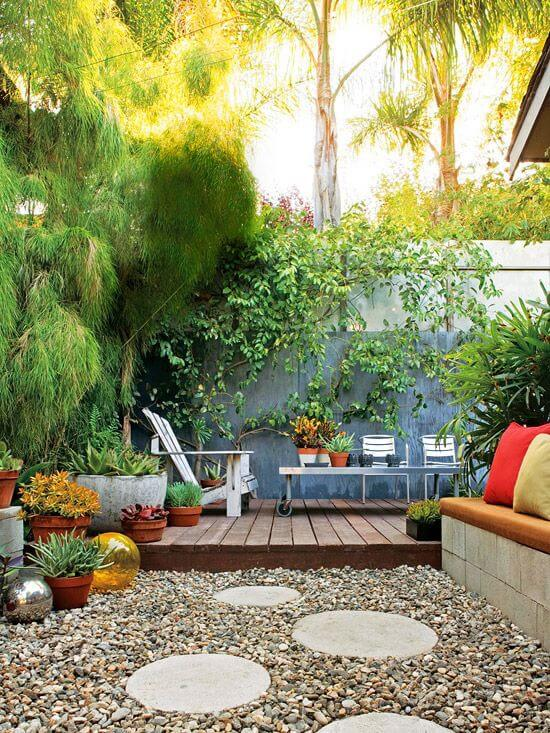 12 Great Ideas For A Modest Backyard: 71 Fantastic Backyard Ideas On A Budget