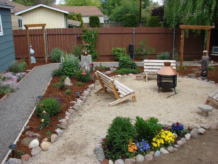 71 fantastic backyard ideas on a budget page 17 of 71 for Simple small backyard ideas