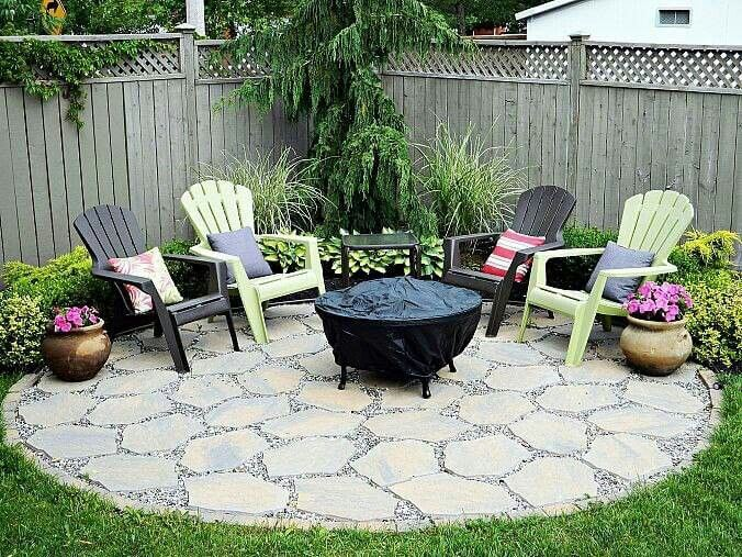 28 backyard seating ideas page 14 of 28 worthminer - Small backyard fire pit ideas ...