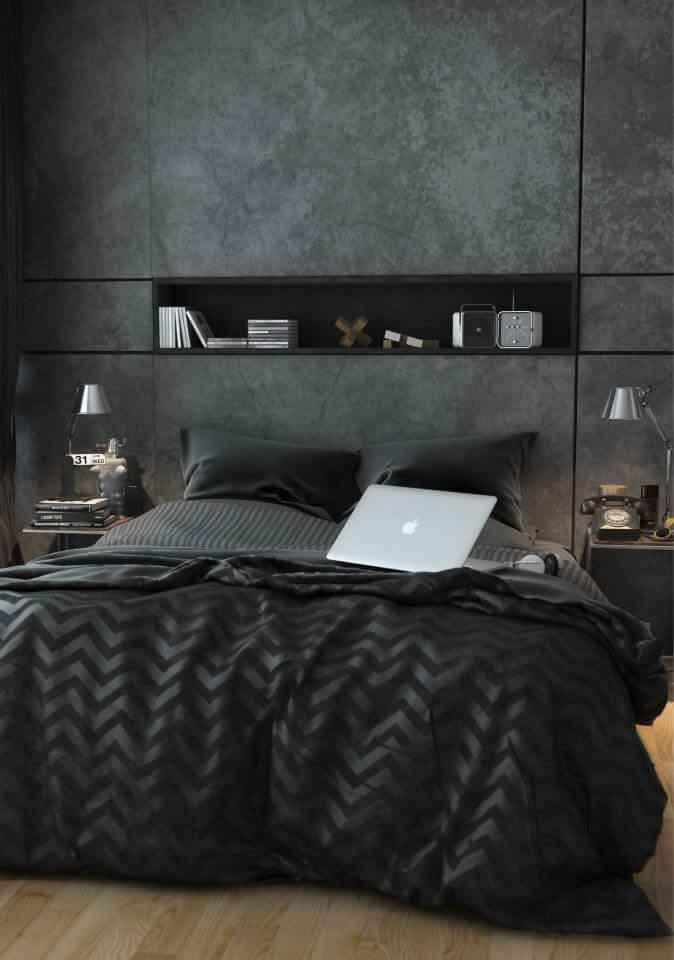 22 Great Bedroom Decor Ideas for Men | Worthminer