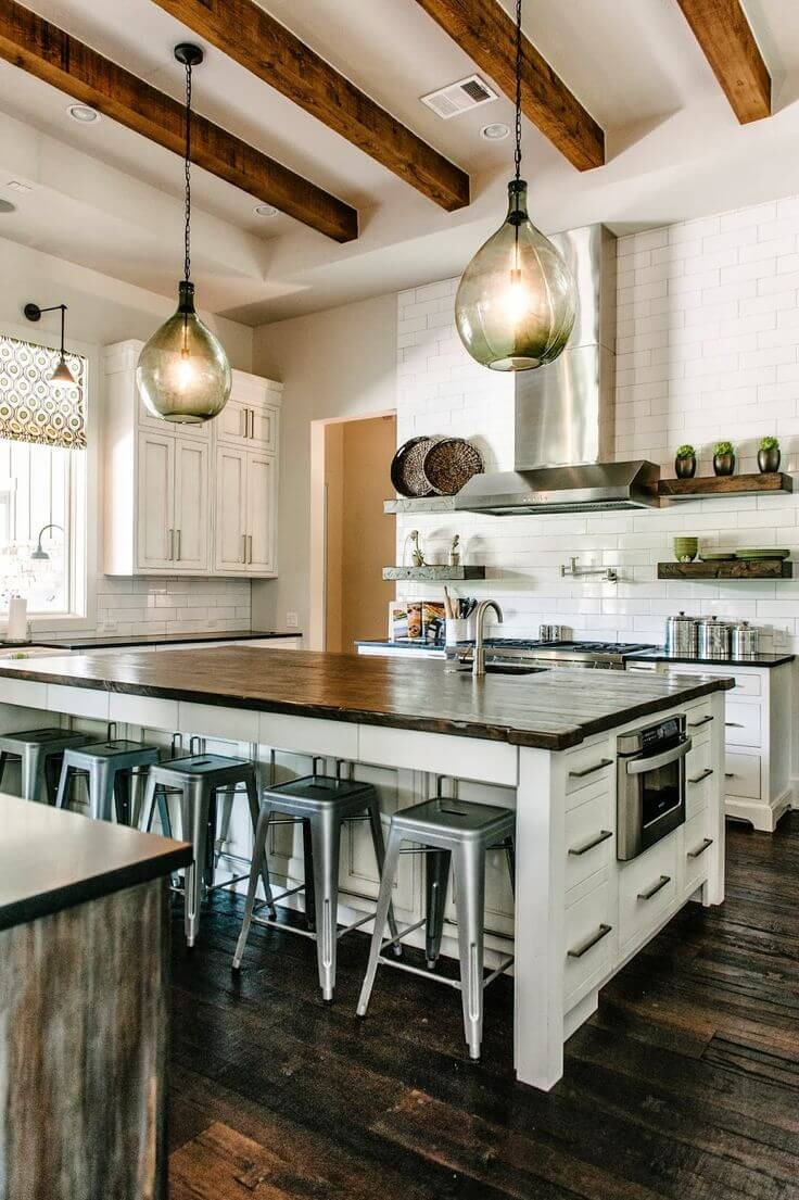 17 amazing kitchen lighting tips and ideas worthminer for Amazing kitchen designs