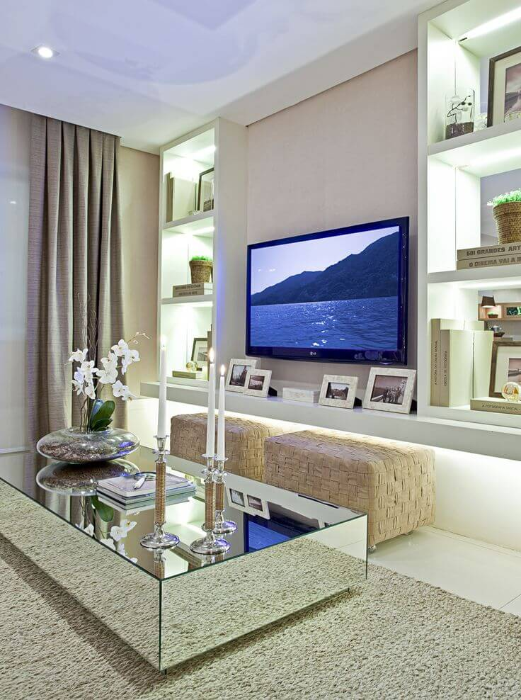 Image gallery modern living room ornaments for Modern living room video