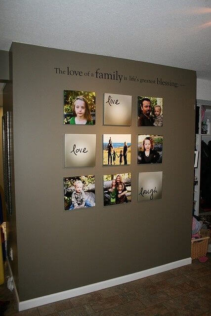 10 simple wall decor ideas for your living room worthminer - Wall decoration ideas for bedrooms ...