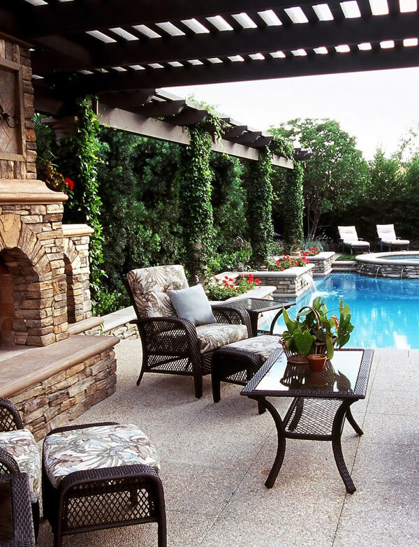 Backyard Patio Design Ideas backyard patios ideas beautiful patio and pergola with fireplace focal point patio ideasbackyard patio design pictures Backyard Patio Design Idea
