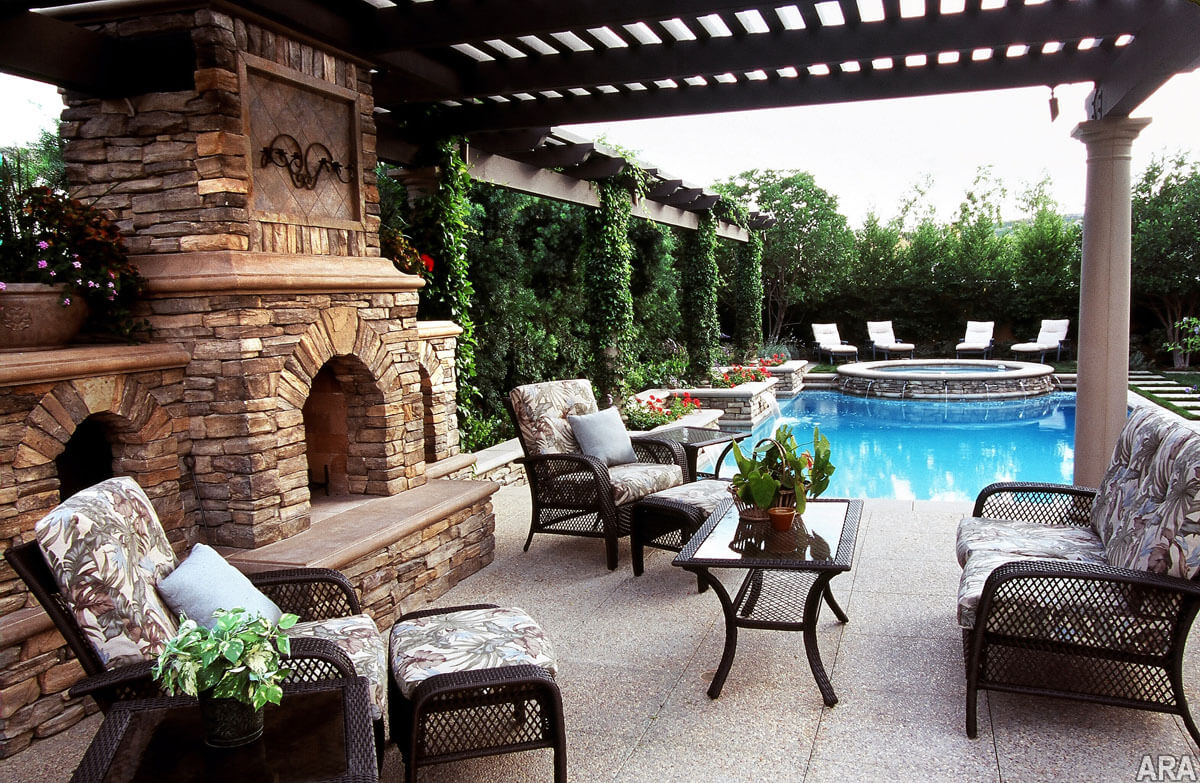 30 patio design ideas for your backyard worthminer Beautiful garden patio designs