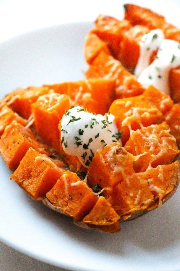 Easy 15 minute roasted sweet potatoes for How to make delicious sweet potatoes