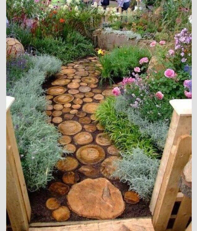 Cheap Sidewalk Ideas: 27 Easy And Cheap Walkway Ideas For Your Garden