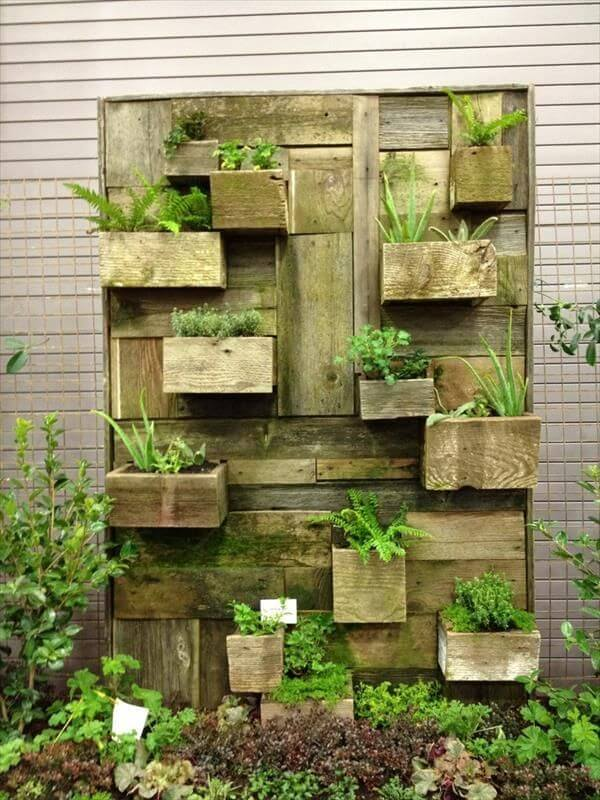 22 DIY Vertical Garden Wall Ideas | Worthminer