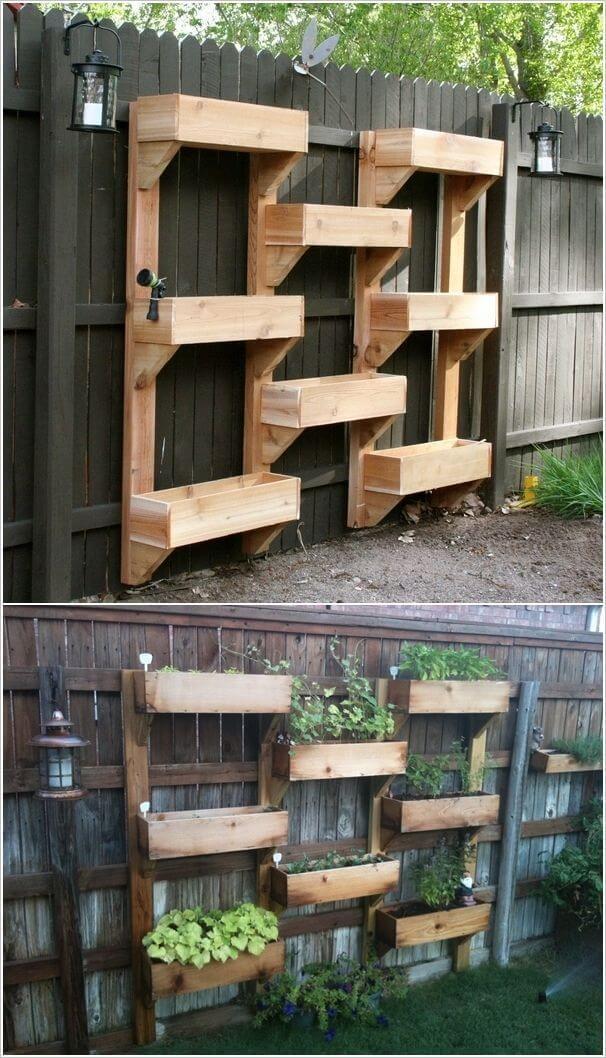 Diy Wall Garden Ideas : Vertical garden wall
