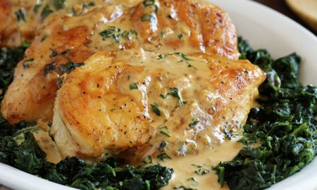 Perfect Chicken Florentine