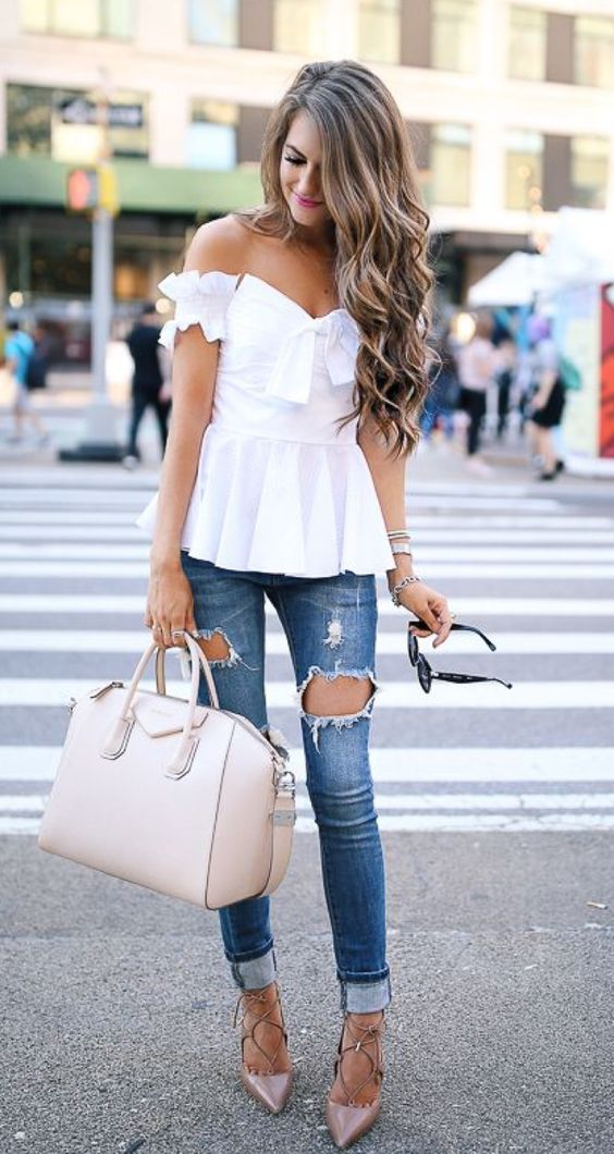 20 Summer Outfits With White Top Page 7 Of 20 Worthminer