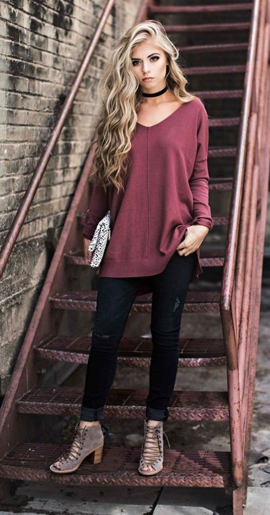 15 Cute Fall Outfit Ideas 2017 Worthminer
