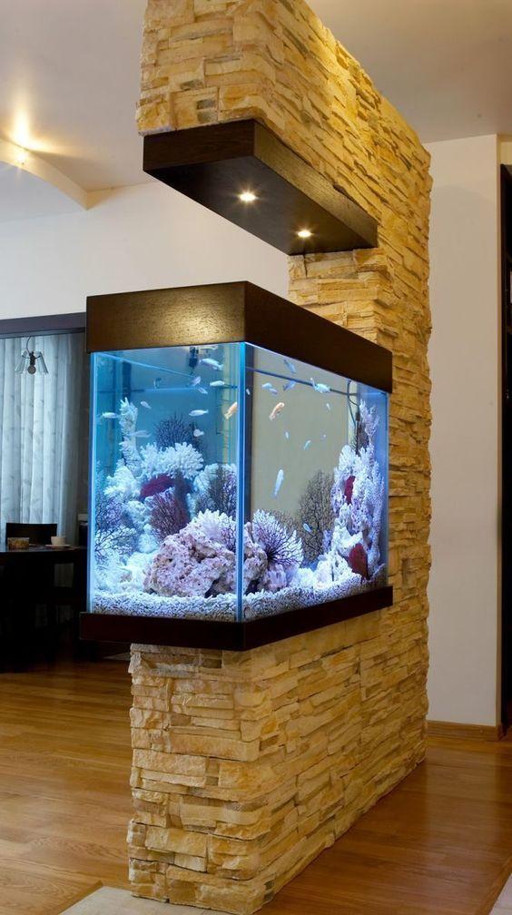 Home Interior Design Styles: 15 Amazing Ideas With Interior Aquariums
