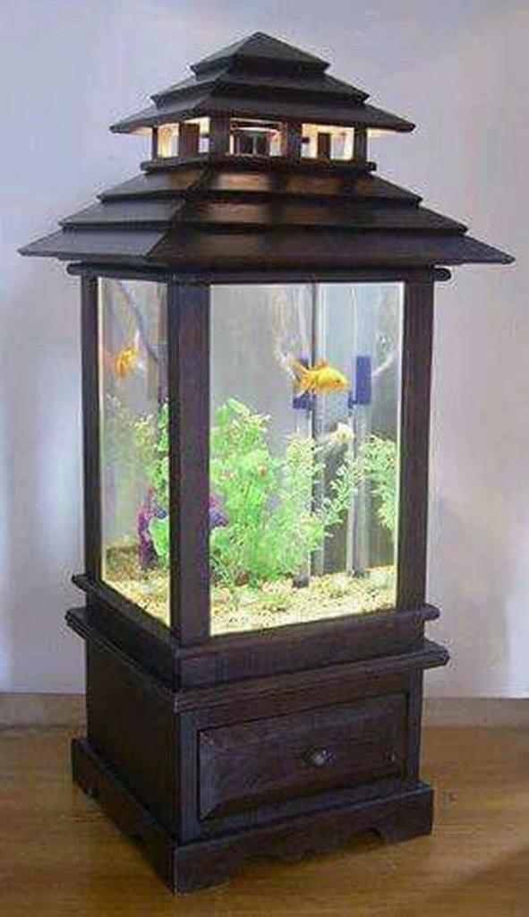 15 Amazing Ideas With Interior Aquariums