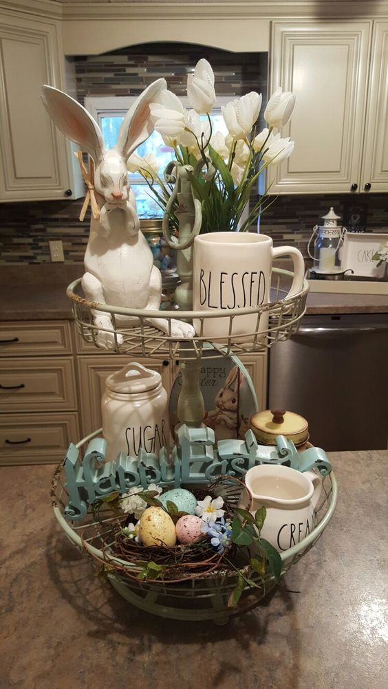 Check out these amazing easter decorating ideas for the home.