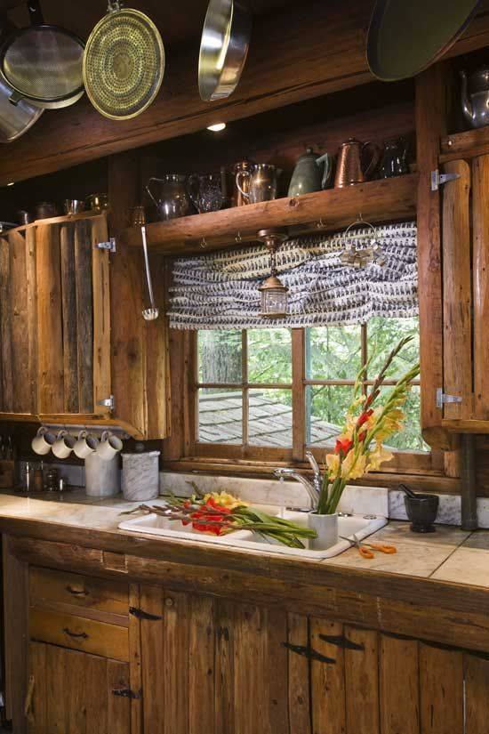 Check out our tips and ideas on beautiful rustic style kitchens.